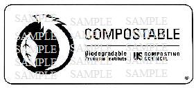 compostable logo program