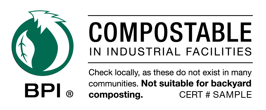 Certified Compostable Packaging